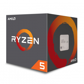 AMD RYZEN 5 2600 BOX  (3.4 GHz) / (3.9 GHz) Max Boost