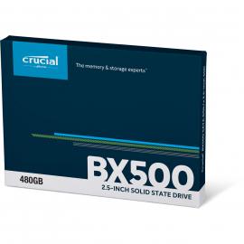 """Crucial SSD 480Go BX500 Sata 2""""5"""