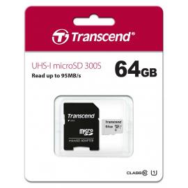 MicroSDXC 64 Go Transcend 300S