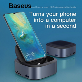 Baseus Multi USB C Docking Station Type C HUB Hdmi Dock CAHUB-S0G