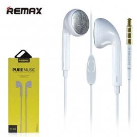 Remax- RM-303- Écouteurs stéréo avec Microphone intégré BLANC