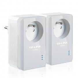 TPLINK TL-PA4015P KIT - Kit 2 adaptateurs CLP 500Mbps + prises FR intégrées