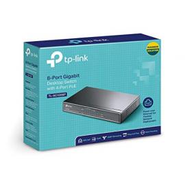 TP-Link TL-SG1008P Switch PoE Ethernet Réseau Gigabit 8 ports 10/100/1000 Mbps