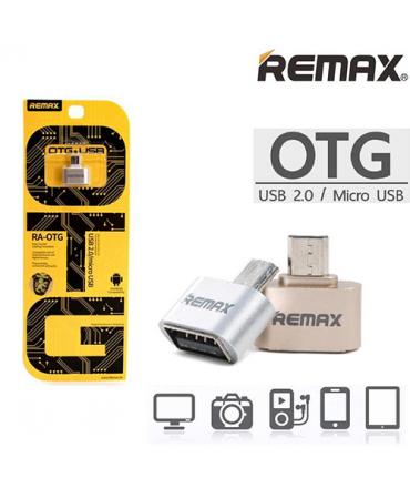 Remax Adaptateur USB 2.0 vers micro USB