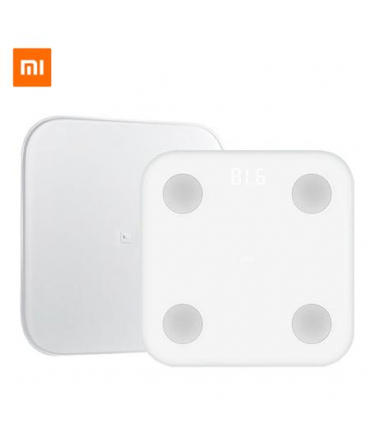 Xiaomi Mi Body Composition Scale 2 Blanc surface en verre