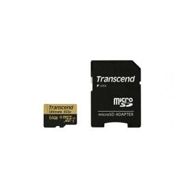 TRANSCEND Micro SDXC 64 Go Ultimate 633x CL10 UHS-I U3