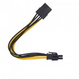 Rallonge PCIE 8pins vers PCIE 6+2pins 20 cm