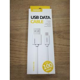 Remax Câble USB Type C 1m chargeur rapide  2.1 A